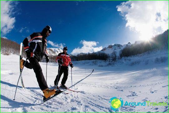 Ски курорти на Черна гора