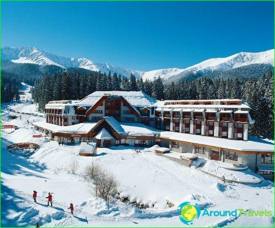 Ски курорти в Словакия