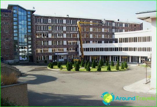 Koulutus Armeniassa