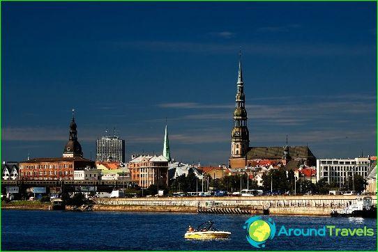 Vakantie in Letland in juli