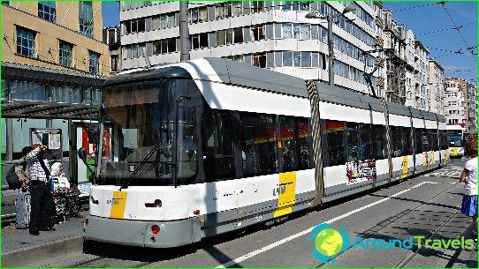 Metro Antwerpen: kartta, valokuva, kuvaus