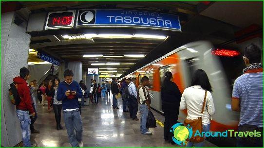 Metro Mexico City: kaart, foto, beschrijving
