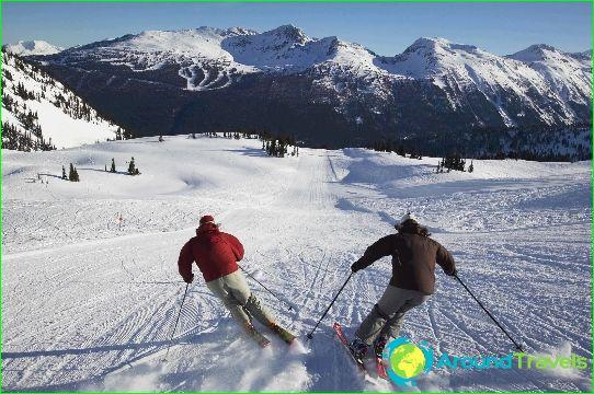 Kanadan hiihtokeskukset