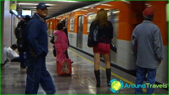 Metro Mexico City: plan, photo, description