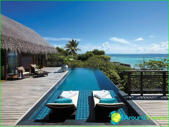 العطل في جزر المالديف في يوليو