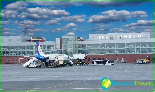 Flygplats i Jekaterinburg