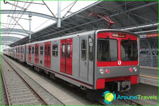 Metro Lima: kartta, kuva, kuvaus