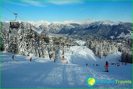 Ски курорти в Словения