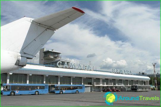 Luchthaven in Samara
