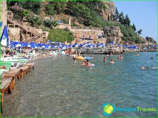Stranden van Antalya