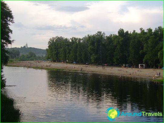 Stranden in Poltava