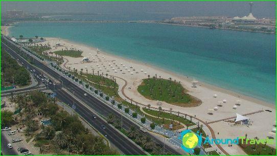 Abu Dhabin rannat