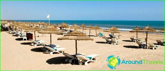 Tunisia rannat