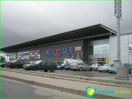 Winkelen in Litouwen