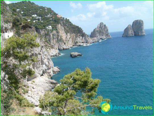 Missä rentoutua Italiassa