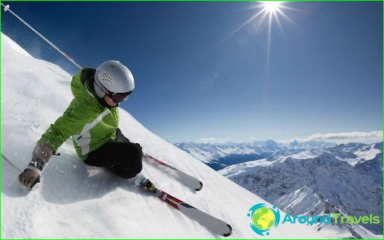 Най-добрите ски курорти в света