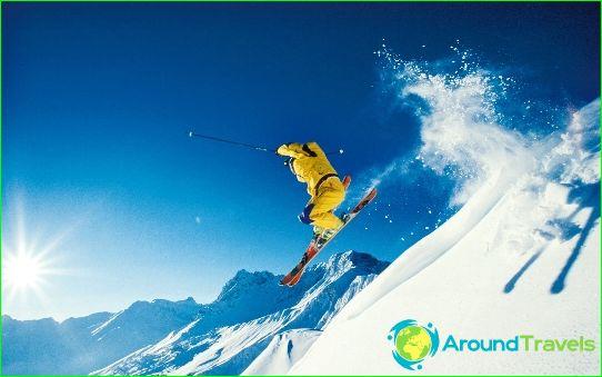 Maailman suosituimmat hiihtokeskukset