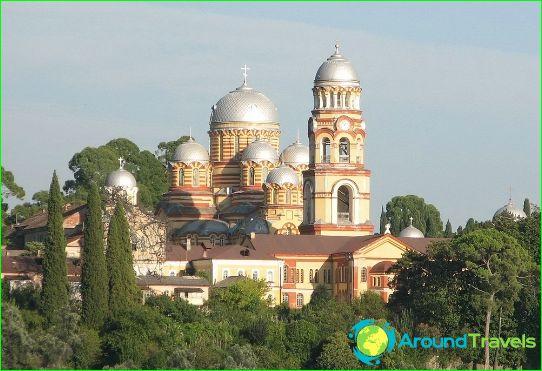 Waar te ontspannen in Abchazië