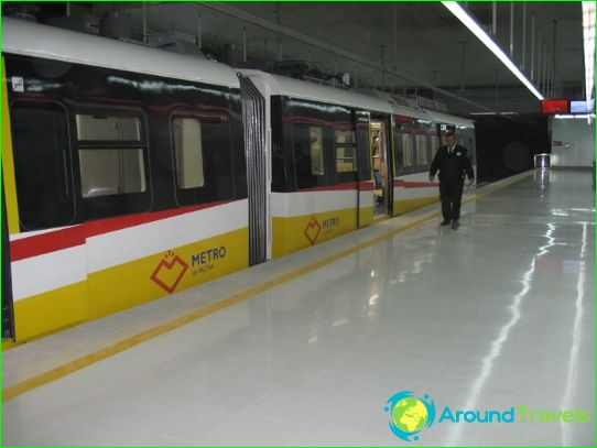 Metro Palma de Mallorca: het schema, foto's, beschrijving