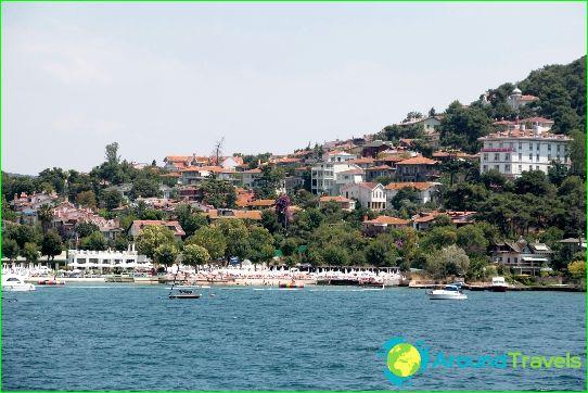 Stranden in Istanbul