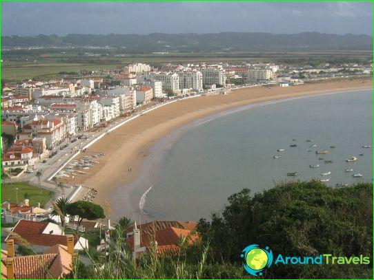 Stranden in Porto