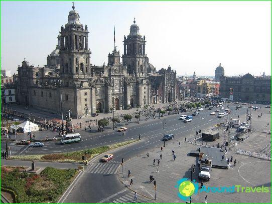 مكسيكو سيتي - عاصمة المكسيك