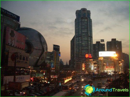 Шанхай Магазини и пазари