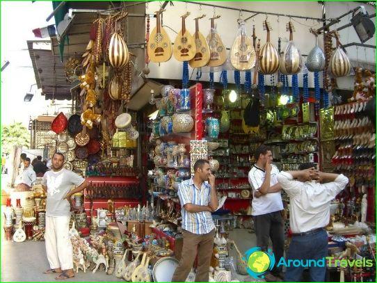 Kaupat ja markkinat Kairossa