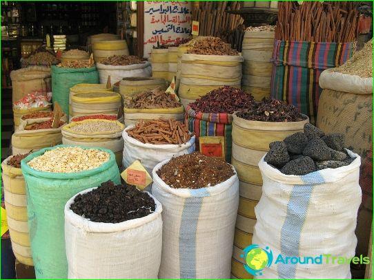 Boutiques et marchés au Caire