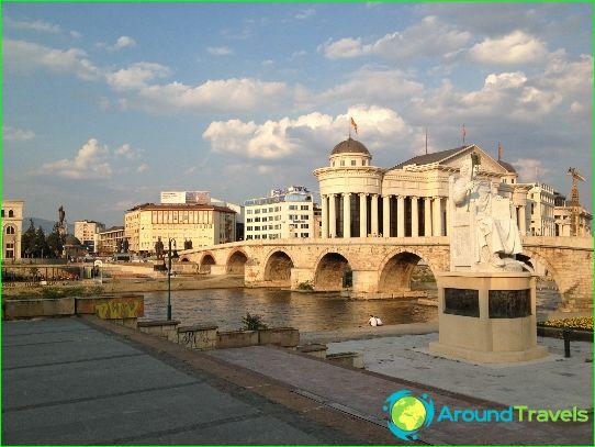 Skopje - Makedonian pääkaupunki