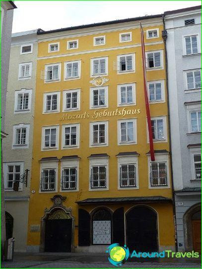Talo, jossa Mozart syntyi