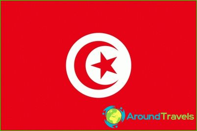 Tunisia lippu