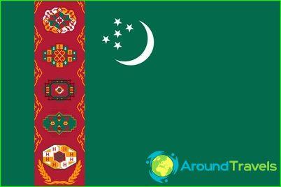 Turkmenistanin lippu