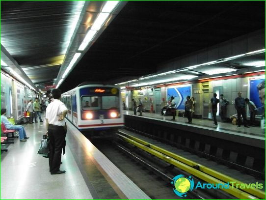 Метро Техеран: схема, снимка, описание