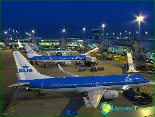Amsterdamin lentokenttä