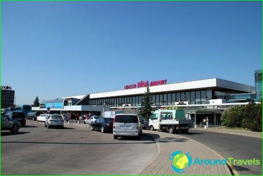 Lentokenttä Riiassa