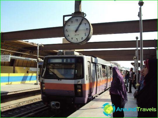 Metro Cairo: schema, foto, beschrijving