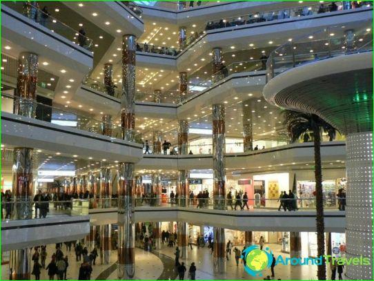 Winkels en winkelcentra Tokyo