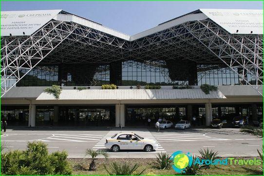Luchthaven in Adler