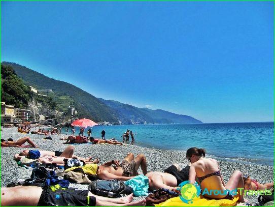 Плажове в Генуа