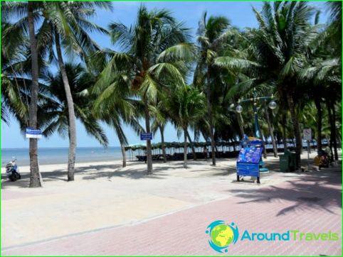 Stranden in Bangkok