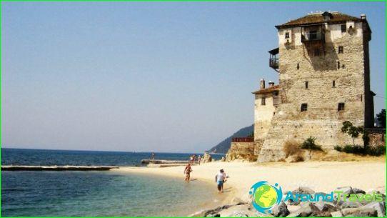 Stranden van Thessaloniki