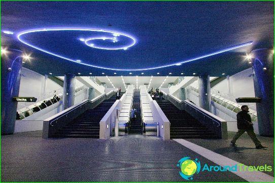 Metro Napels: schema, foto, beschrijving