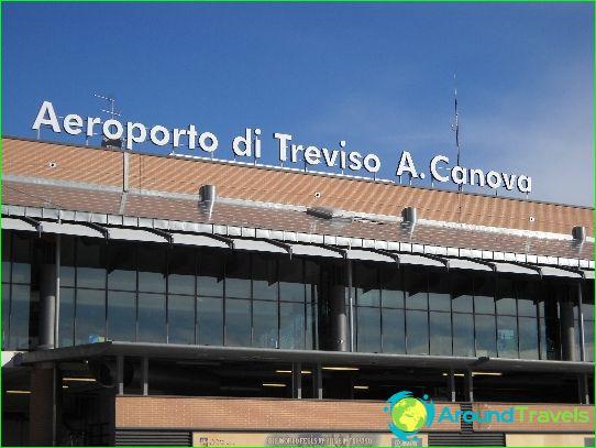 Flygplats i Venedig