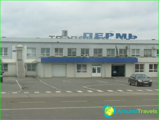 Luchthaven in Perm