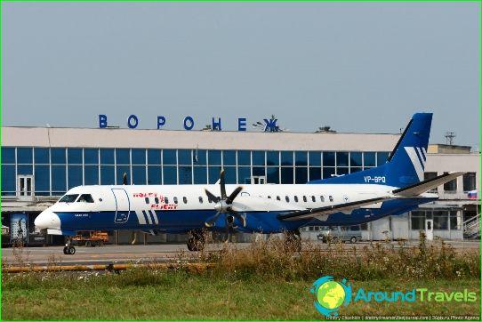 Luchthaven in Voronezh