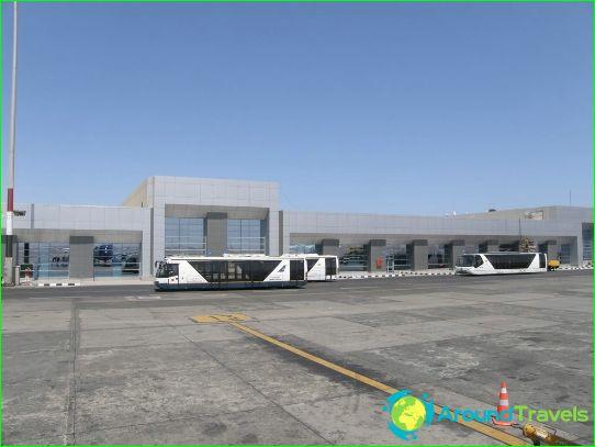 Aéroport à Hurghada