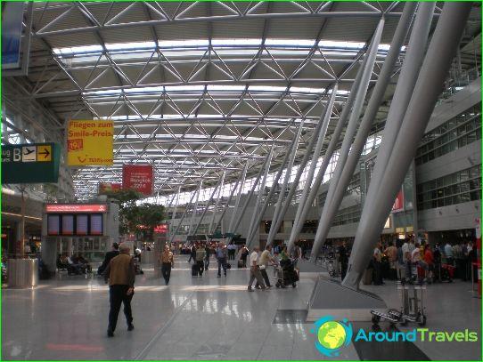 Lentokenttä Düsseldorf