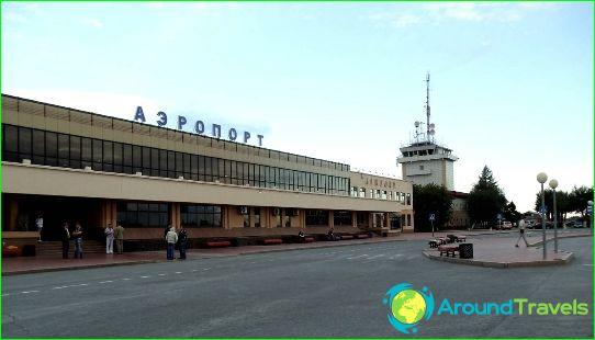 Lentokenttä Tyumen
