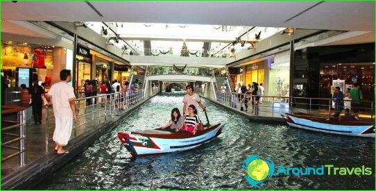 Boutiques et centres commerciaux à Singapour